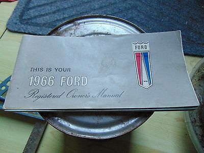 1966 Ford Registered Owners Manual