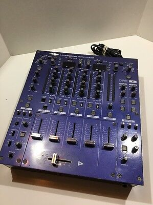 TASCAM X9 4 Channel Professional Digital DJ Mixer Tested Working