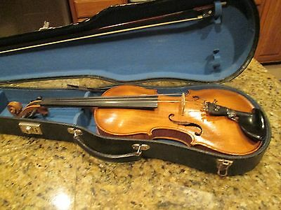 ANTIQUE FIDDLE WITH BOW, CASE AND ACCESSORIES Price reduced!!