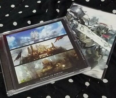 Final Fantasy XIV Soundtrack with Postcards