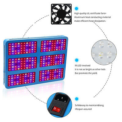 3000W Full Spectrum LED Grow Light for Medical Plants Veg and Bloom Indoor Plant
