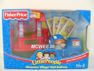 BNIB 2004 Fisher Price Little People MAIL DELIVERY Set - ONE ONLY AVAILABLE!!