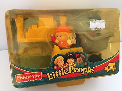BNIB 2002 Fisher Price Little People MINI DUMP TRUCK - ONE ONLY AVAILABLE!