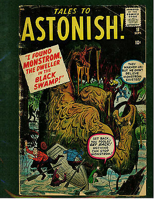 Tales To Astonish # 11 -- Monstrom The Dweller In The Plack Swamp -- Gd