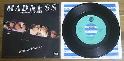 """Madness Michael Caine If You Think There's Something Stiff Japan Promo 7"""" Single"""