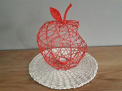 Kitchen Decor, Apple Basket / Candle Holder - Great Styling Accessory