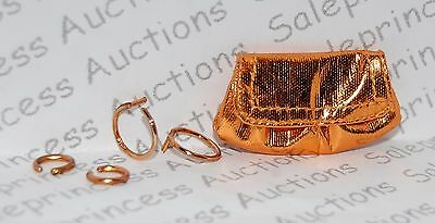NEW Barbie Basics Collection 2.5 Look 01 Doll Bronze Purse Jewelry Model Muse Lo