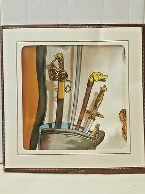 """Philippe LeDoux designed HERMES SCARF, """"Le Musee"""" design.    New"""