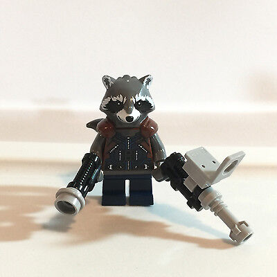 LEGO Marvel Super Heroes Rocket Raccoon Guardians of the Galaxy minifigure 76079