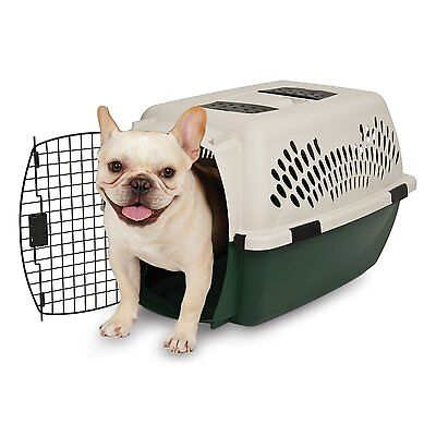 Ruff Maxx Kennel New Plastic Hard-sided Pet Travel Crate House with Carry Handle