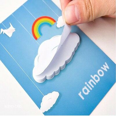 'Rainbow Cloud' Post-It Sticky Notes