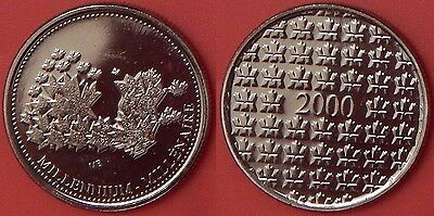Proof Like 2000 Canada Millennium Token From Mint's Set