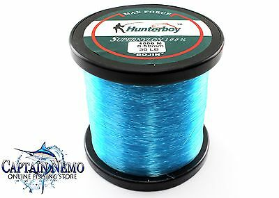Hunterboy Maxforce Super Nylon Fishing Line 1000M 30Lb Monofilament Hb301000B