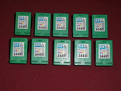 10x leere Original HP 344 Color C9363EE empty virgin cartridge +Rechnung HP344