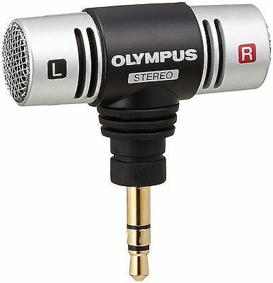 OLYMPUS ME-51S Stereo Microphone Set ME51SW ME-51SW  from Japan New
