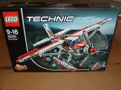 Lego Technic 42040 Fire Plane Brand New Factory Sealed Box