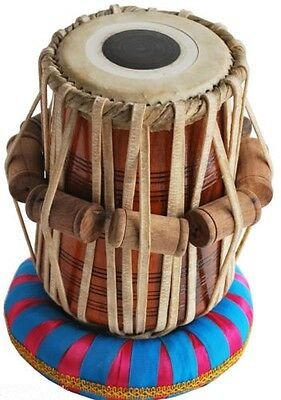 "Tabla Dayan Drums-Shesham""Wood-Hand_Made Skin-Great Sound"