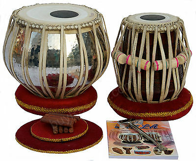 Tabla Set|Akbar Mian & Bros|Copper Bayan 4Kg|Hi-Quality Dayan|Book|Bag|Bfa-2