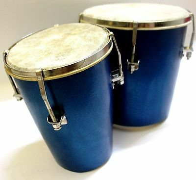 Ehs Bongo Drum Percussion Hand Taal Instrument Nut Bolt Adjusted Professional