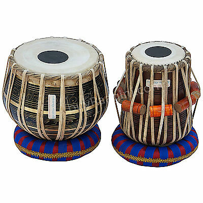 Tabla Drum Set|Maharaja|3Kg Black Brass Bayan|Dayan|Tabla|All Acce.|Ea