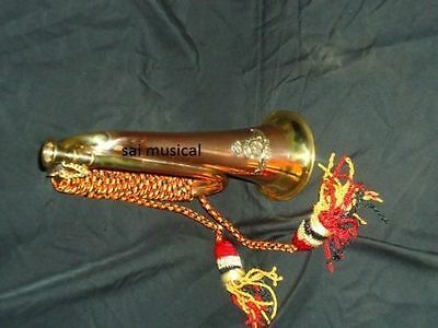 "Indian Bugle Bugles_W/case""mp_Cord,batch Awesome Manufacturer Trumpets"