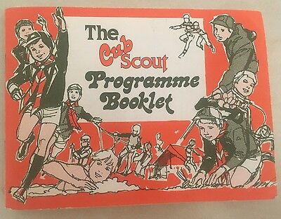The Cub Scout Programme Booklet