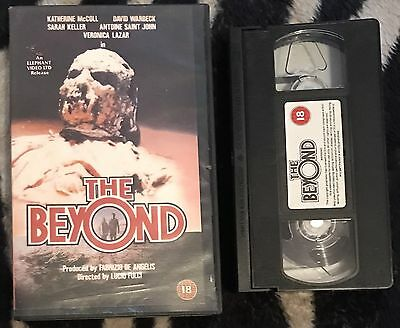 THE BEYOND Original VHS Video Nasty Lucio Fulci Horror Big Box