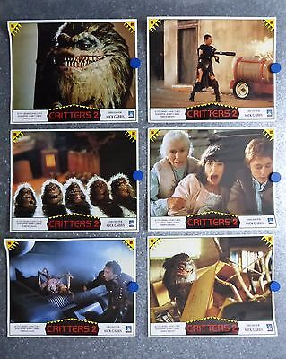 Critters 2: The Main Course Terrence Mann Mick Garris GREAT Lobby Set Spain 1988