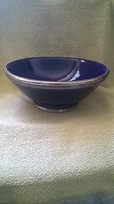 Large, Blue    BOWL -  (PLEASE READ ON )