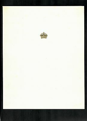 KING GEORGE VI AND QUEEN ELIZABETH CHRISTMAS CARD 1940's