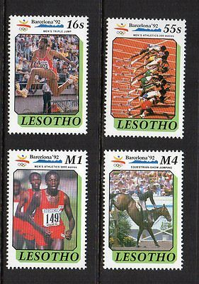Lesotho - Barcelona Olympic Games 1992, MNH