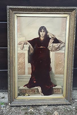 large antique picture frame - could be a mirror
