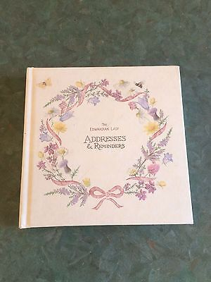 The Edwardian Lady Address and Reminder Book