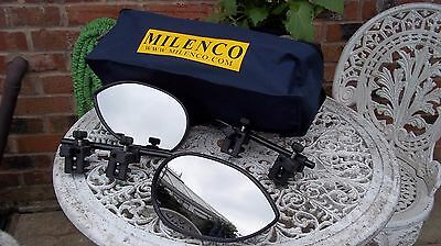 Milenco Towing Mirrors With Storage Bag Excellent Condition MK 3