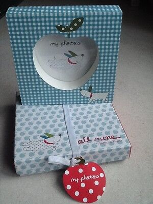 Mamas & Papas All Mine photo frame brand new perfect gift for newborn boy
