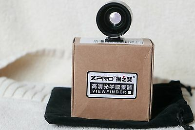 Universal 28/35mm optical viewfinder XPRO Plus III for several d/cam,new other.