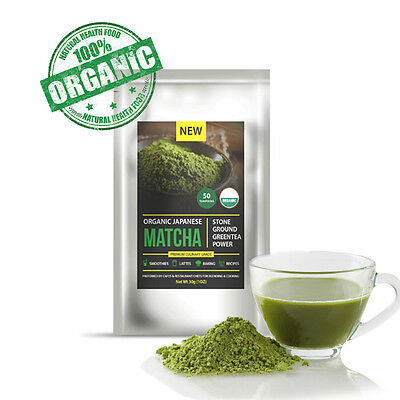 Matcha Japanese Green Tea Powder Premium 100g | Organic | Up to 200 serves |