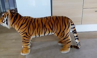 Large stuffed Toy Tiger