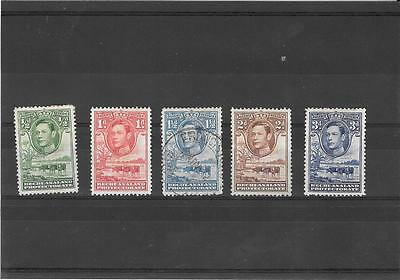 1938 Bechuanaland Protectorate  Part Set