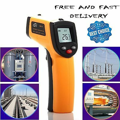 Infrared Laser Temperature Gun - Non Contact Thermometer - Point and Read Temp.#
