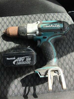 Makita BHP451 18v Cordless Hammer Drill, Box And Charger Plus 1x Battery.