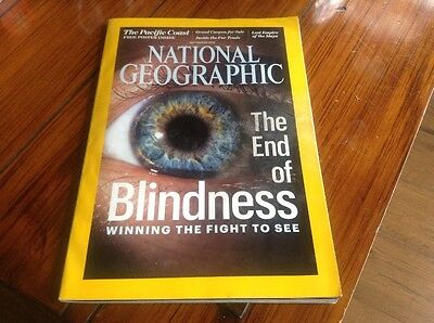 National Geographic Magazine - The End of Blindness - September 2016