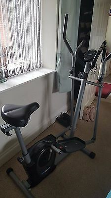 Pro Fitness Exercise Bike / Cross Trainer