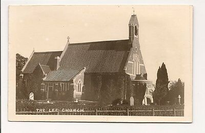 RP -postcard-Buckinghamshire-The Lee Church