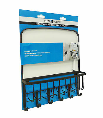 Dry Erase Board Mail Key Holder New Inter Design Durable Steel Included Hardware