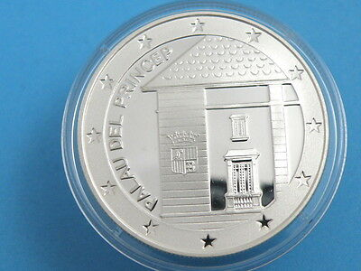 Andorra - 1997 Silver Proof 10 Diners Coin - Palau Del Princep