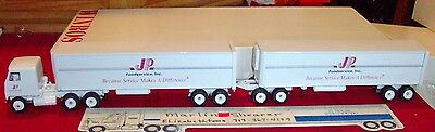 Jp Foodservice Inc. Thurway Doubles Tractor Trailer Winross Truck