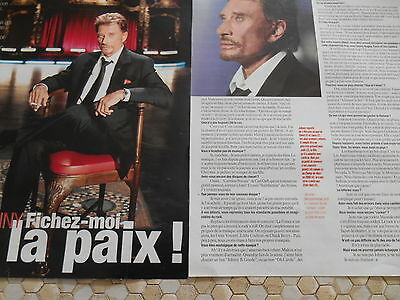 Coupure De Presse Johnny Hallyday