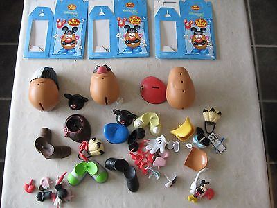 Mixed assortment of Mr Potato Heads