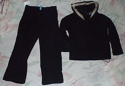 Vintage kid clothing sailor suit Navy blue boys small child's Costume MILITARY